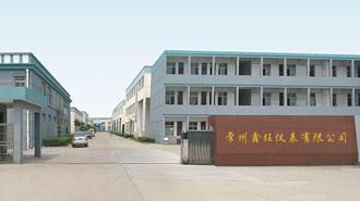 常州鑫旺仪表有限公司网站建设完成